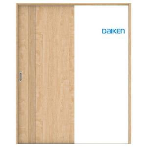 大建工業 片引き戸セット 61デザイン (固定枠/見切(ケーシング)枠) 内装ドア|ouchioukoku
