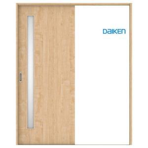 大建工業 片引き戸セット D4デザイン (固定枠/見切(ケーシング)枠) 内装ドア|ouchioukoku
