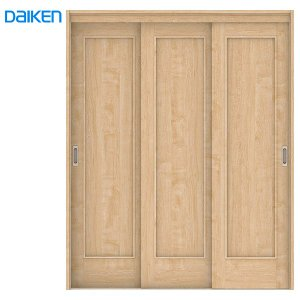 DAIKEN(大建工業) ハピア 3枚連動引戸 【デザイン01】見切枠(ケーシング枠)|ouchioukoku