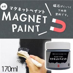 マグネットペイント【ターナー色彩】 170mL 水性ペンキ 下地用塗料 特殊塗料 リフォーム DIY