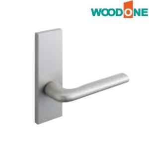 WOODONE(ウッドワン) レバーハンドル [R型シルバー・塗装/空錠] 【ZH11R1-F】|ouchioukoku