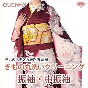 振袖・中振袖 着物クリーニング 丸洗い 振袖フェア20% OFF 9,900円→7,920円 1/31まで|ougiyakimono