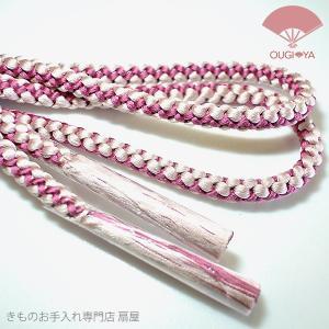 手づくり帯締め 麦の穂太細|ougiyakimono