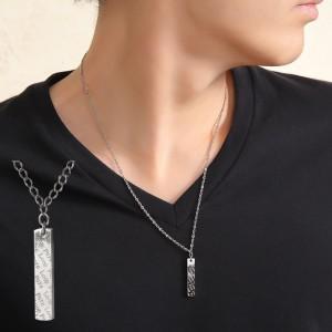 磁気ネックレス(医療機器) おしゃれな純チタン磁気ネックレス  [長さ] 約45cm・約50cm・約...