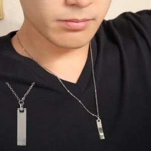 磁気ネックレス(医療機器) おしゃれな純チタン磁気ネックレス  [長さ/重量] 約45cm/約4.5...