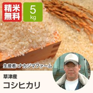 コシヒカリ(ナカジマファーム) 5kg 令和元年 滋賀県産 近江米 - 道の駅草津|oumitokuichi