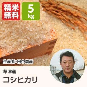 コシヒカリ(田中農産) 5kg 令和2年 滋賀県産 近江米 - 道の駅草津|oumitokuichi