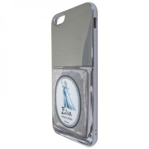 iPhone6S・6対応/ディズニープリンセス マニキュア柄/アナと雪の女王 エルサ/DN-221C|oupace
