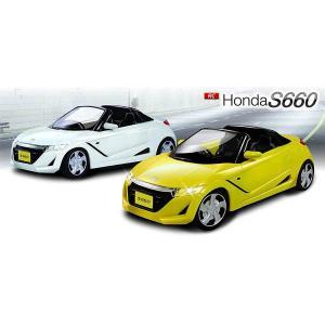 RC Honda S660 ホンダオフィシャルライセンス ラジコンカー フルファンクション ヘッドライト点灯 1/28 R/C|oupace