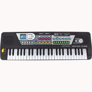 サウンドステーションキーボード 49鍵盤 和音が弾けて本格的 ピアノの練習にも 電子キーボード