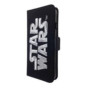 iPhone6S・6用/スターウォーズ(STARWARS) 3D刺繍フリップケース(シルバー)/手帳型ケース スウェット生地/STW-47B|oupace