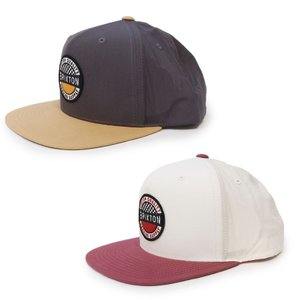 BRIXTON ブリクストン キャップ 帽子 TERMINAL CROSSOVER MP SNAPBACK 2色 グレー ホワイト|our-s