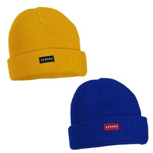 AFENDS アフェンズ サーフ メンズ レディース ユニセックス CORE BEANIE 2色 ビーニー 帽子 イエロー 黄色 ブルー 青 our-s