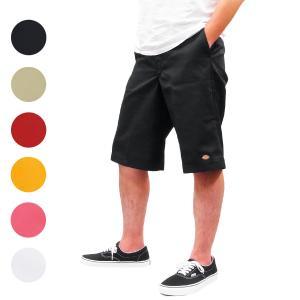 DICKIES ディッキーズ メンズ ハーフパンツ チノ ワークパンツ ルーズフィット TWILL WORK SHORT PANT 6色|our-s