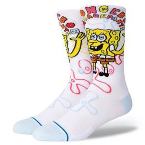 STANCE SOCKS スタンス ハイソックス 靴下 IMAGINATION BOB スポンジボブ SpongeBob コラボ|our-s