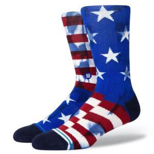 STANCE SOCKS スタンス ハイソックス 靴下 THE BANNER 星条旗 アメリカ|our-s