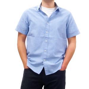 BANKS バンクス メンズ レディース ユニセックス 半袖シャツ 柄シャツ  YESTERDAY BLUE FOG ブルー 青|our-s