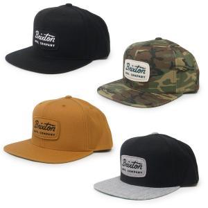 BRIXTON ブリクストン キャップ 帽子 JOLT SNAPBACK 4色 ブラック 黒 カーキ 迷彩|our-s