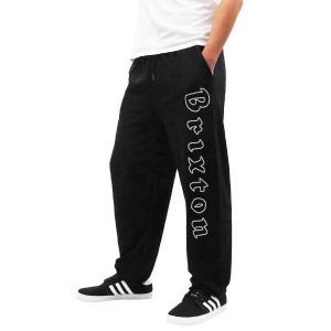 BRIXTON ブリクストン スウェット スエット PROXY SWEATPANT ブラック 黒|our-s