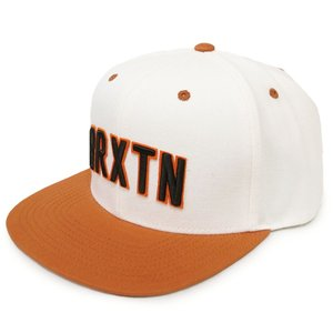 BRIXTON ブリクストン キャップ 帽子 HAMILTON SNAPBACK WHITE / BURNT ORANGE オフホワイト オレンジ our-s