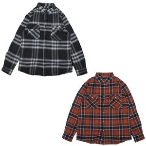 BRIXTON ブリクストン フランネルシャツ メンズ BOWERY FLANNEL SHIRT 2色 our-s