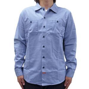 BRIXTON ブリクストン オックスフォードシャツ メンズ BLAKE WOVEN SHIRT LIGHT BLUE our-s