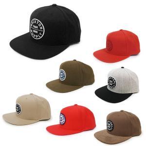 BRIXTON ブリクストン キャップ 帽子 OATH III SNAPBACK 7色 ブラック 黒 グレー バーガンディ ブルー グリーン チャコール|our-s