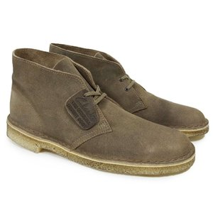 CLARKS クラークス デザートブーツ シューズ DESERT BOOT TAUPE SUEDE ブラウン|our-s
