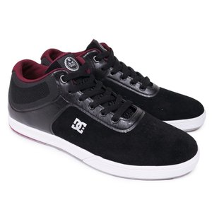 DC SHOE シューズ スケシュー 靴 MAKE MO CAPALDI MID S BLACK WHITE SILVER|our-s
