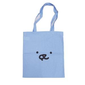 LEON レオン FACE LIGHT トートバッグ エコバック カバン 鞄 bag ネコ 猫 レディース メンズ ユニセックス 青 ブルー our-s