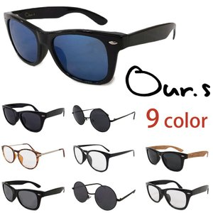 Our.s トイサングラス 眼鏡 ケース付き ORIGINAL SUNGLASS 9色 レビューを書いて送料無料 年末セール|our-s
