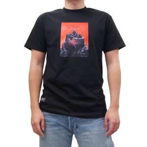 PRIMITIVE プリミティブ メビウス MARVEL マーベル ANXIETY MAN TEE 半袖Tシャツ カットソー 黒 ブラック コラボ|our-s