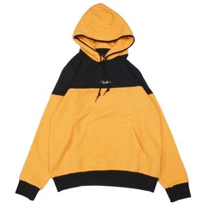 PRIMITIVE プリミティブ プルオーバーパーカー スエット PACER HOODIE イエロー 黄色 ブラック 黒|our-s