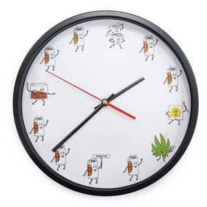 PRIMITIVE プリミティブ PARTY TRAIN WALL CLOCK 時計 掛け時計 壁掛け|our-s