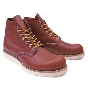 RED WING レッドウィング ワークブーツ Dワイズ 9105 6INCH ROUND TOE BOOTS COPPER|our-s