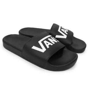 VANS スニーカー バンズ ヴァンズ シャワーサンダル スリッパサンダル SLIDE-ON BLACK ブラック 黒|our-s