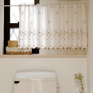 ブロッサム カフェカーテン 巾150x丈45cm|ousama-c