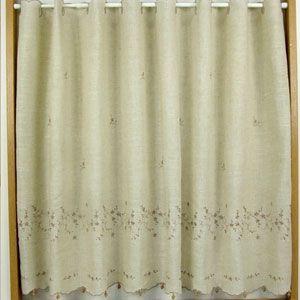 ブロッサム カフェカーテン 巾150x丈90cm|ousama-c