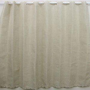 リネア カフェカーテン 巾120x丈90cmの写真