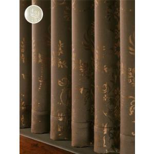 カーテン シャンデリア柄遮光カーテン 巾100cm×丈200cm  2枚組/在庫品/OUD0307|ousama-c