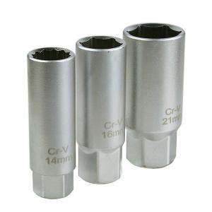 【ネコポス】売れ筋大人気商品 14mm&16mm&21mm プラグレンチ 3点セット ODGN2-B...