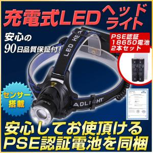 ズーム式LEDヘルメットライト・3400mAhリチウムイオン電池特別セット|outdoorgear