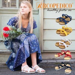 サンダル レディース ARCOPEDICO アルコペディコ サルーテライン outfit-style