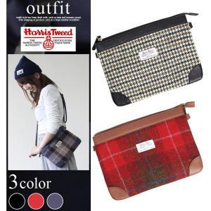 メンズ レディース クラッチバッグ ハンドバッグ ショルダー 2way 鞄 かばん おしゃれ ツイード カワイイ 通学 通勤|outfit-style