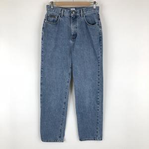 【古着】 Calvin Klein カルバンクライン テーパードデニムパンツ ブルー系 レディースM 【中古】 n002088|outfit-vintage