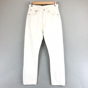 【古着】 Levi's リーバイス リーバイス501 ホワイト系 メンズW28 【中古】 n002811|outfit-vintage