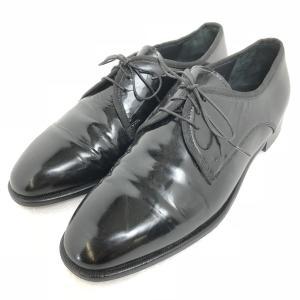 【古着】 PRONTO-UOMO プロントウォモ プレーントゥ ドレスシューズ ブラック系 メンズ27.0cm n003060|outfit-vintage