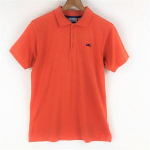 【古着】 Reebok リーボック 無地ポロシャツ オレンジ系 メンズS 【中古】 n003584 outfit-vintage