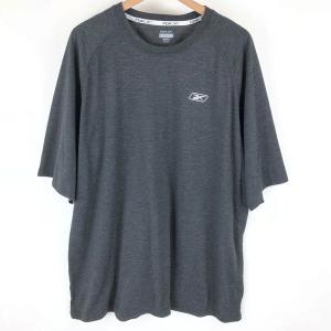 【古着】 Reebok リーボック スポーツTシャツ グレー系 メンズXL 【中古】 n003770 outfit-vintage