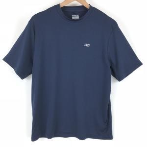 【古着】 Reebok リーボック ワンポイントTシャツ PLAY-DRY グリーン系 メンズS 【中古】 n003898 outfit-vintage